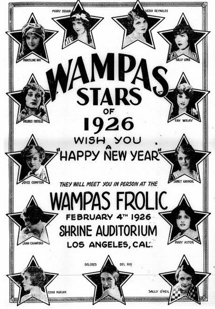 Image result for WAMPAS BABY STARS 1926